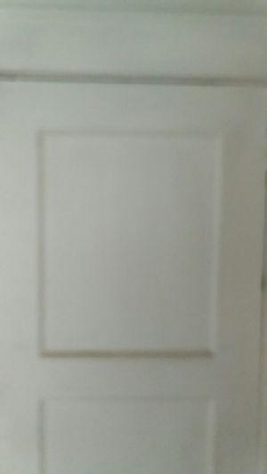 30 In X 79 In 3 Panel Solid Wood Interior Door For Sale In