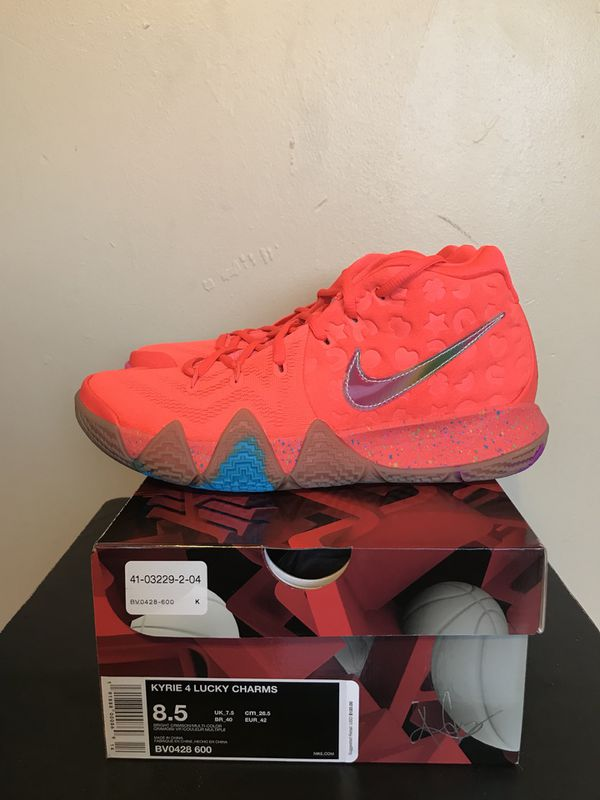 4b00c49c962d Size 8.5 Nike Kyrie 4 Lucky Charms New with Receipt for Sale in ...