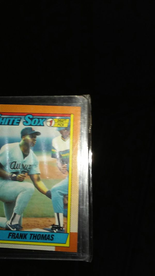 Frank Thomas Rookie Card Topps 414 For Sale In Moore Ok Offerup