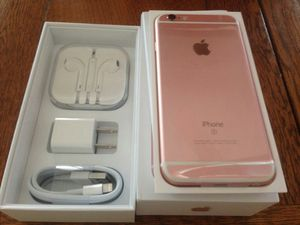 IPhone6S  Factory Unlocked + box and accessories + 30 day warranty for Sale in Alexandria, VA