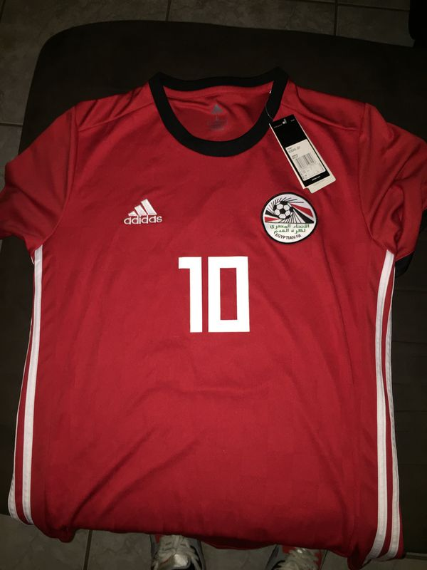 super popular d7b18 40e66 Adidas Egypt National Team Jersey for Sale in Valrico, FL - OfferUp