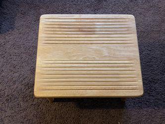 Wood Nursing Stool Thumbnail