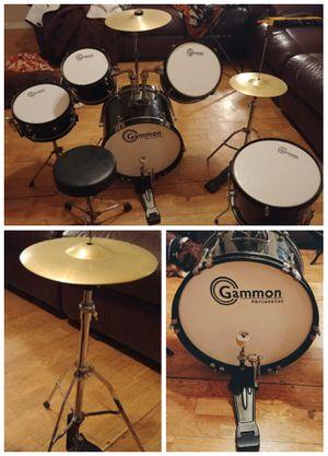 Gammon JR 5pc drum set for Sale in Comfort, TX
