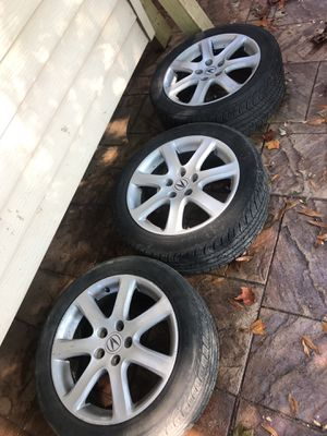 Acura rims 17 for Sale in Rockville, MD