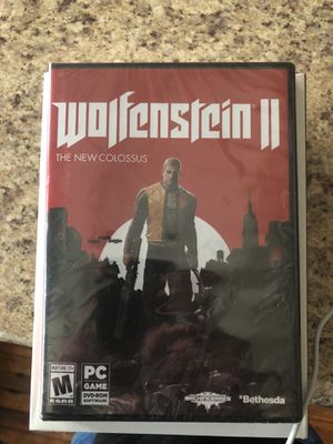 New Wolfenstein II for PC and Alienware gaming mouse for Sale in Dallas, TX