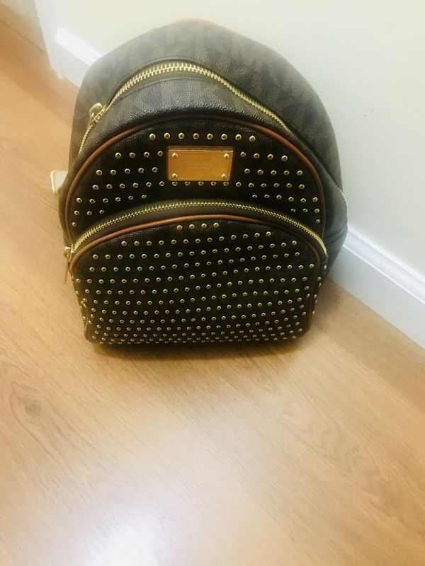 15a1bcd45835 Authentic Studded MK Bookbag for Sale in Kettering