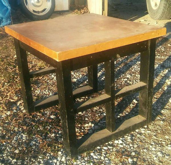 Vintage blond wood Mid-Century table for Sale in Kansas City, KS - OfferUp