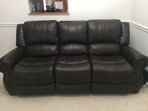 Brand new unboxed 3 seater Recliner sofa available - $650 for Sale in Gambrills, MD