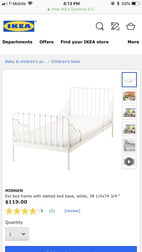 Brand New extendible bed frame with mattress for Sale in Los Angeles ...