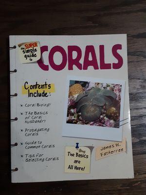 Photo Saltwater aquarium book on corals
