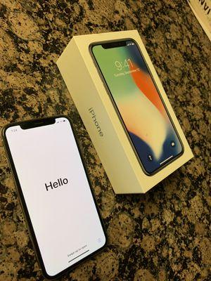 Unlocked iPhone X 256GB for Sale in Alexandria, VA