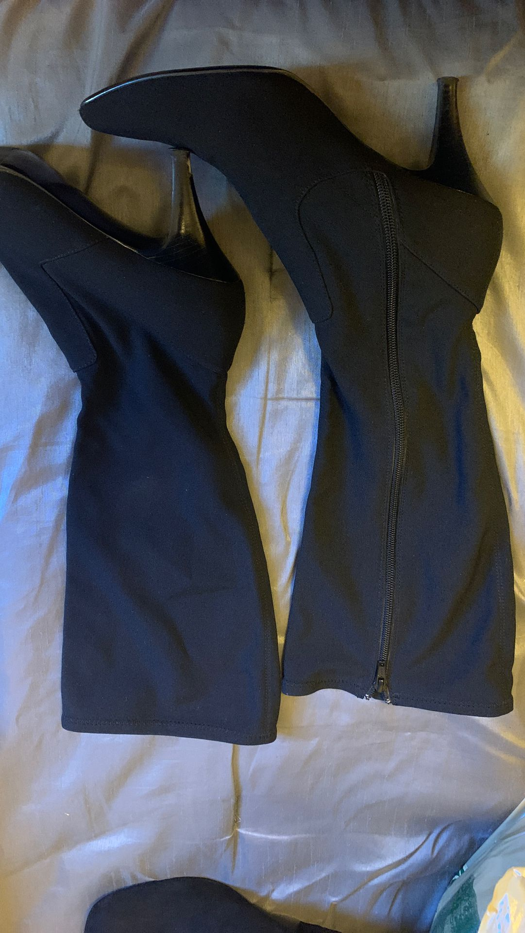 Spandex size 10 boots