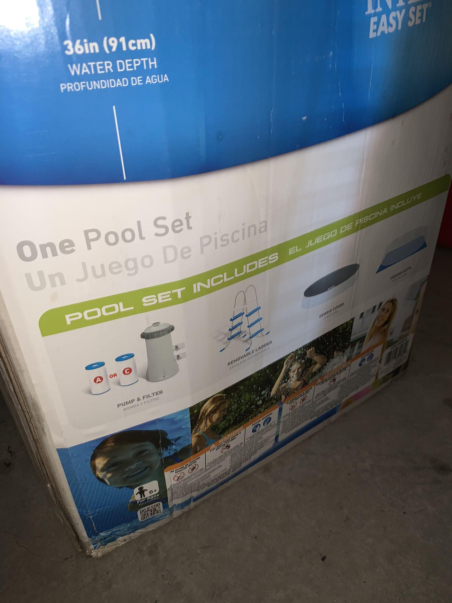 """Intex Easy Set Pool 15' x 42"""""""