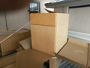 Kitchen cabinets new never used for Sale in Albuquerque, NM