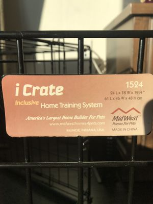 Dog crate for Sale in Rockville, MD