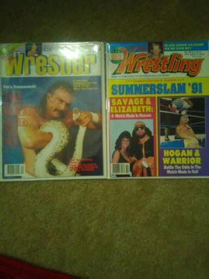 Wrestling magazines 1991-1992 for Sale in Baltimore, MD