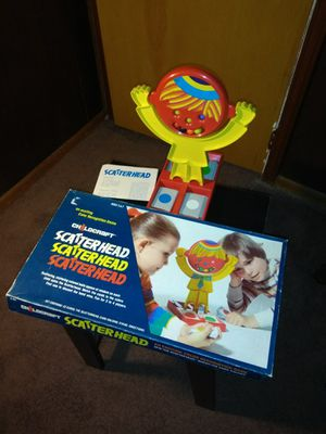1979 SCATTERHEAD GAME FOR KIDS...VINTAGE. for Sale in Sheffield Lake, OH
