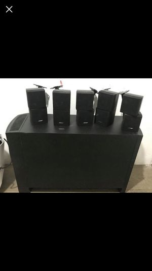 Bose acoustimass 10 lll for Sale in Silver Spring, MD