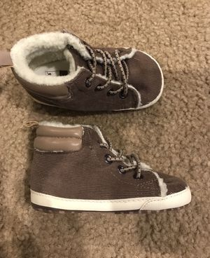 Baby shoes size 9-12 months soft for Sale in Queen Creek, AZ