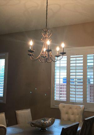 Bronze chandelier for Sale in Riverside, CA
