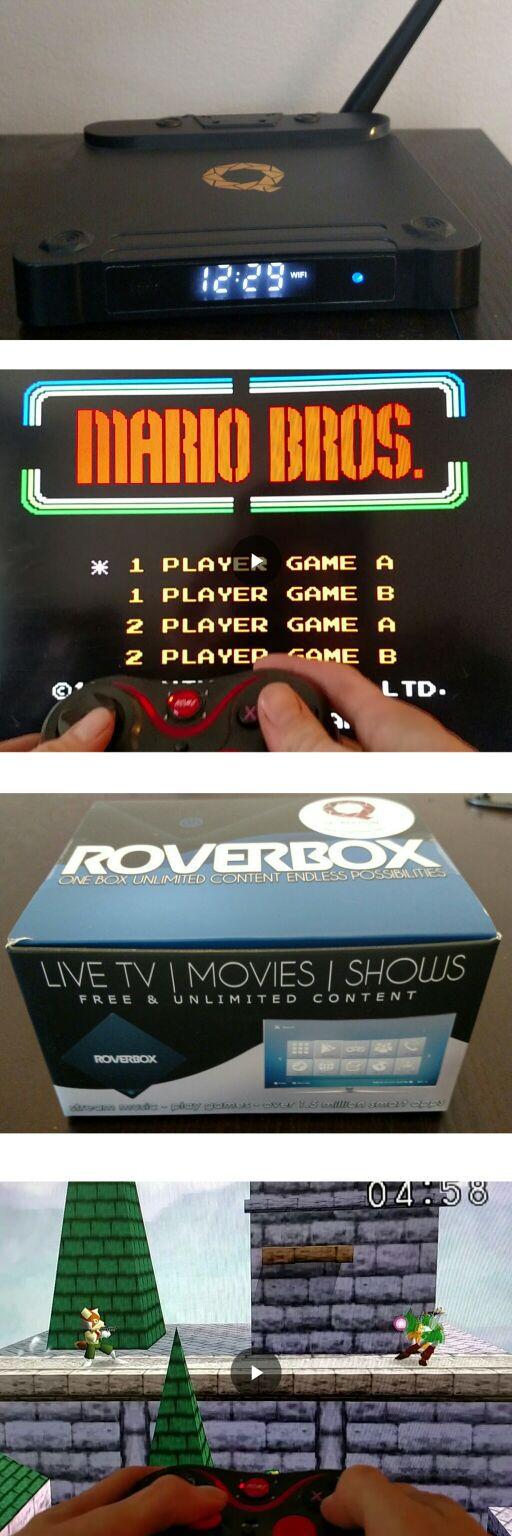 RoverBox LOADED with Retro Video Games: 2,952 games for ~ Nintendo 64 ~ Super Nintendo ~ Sega Genesis ~ Nintendo NES ~ GameBoy