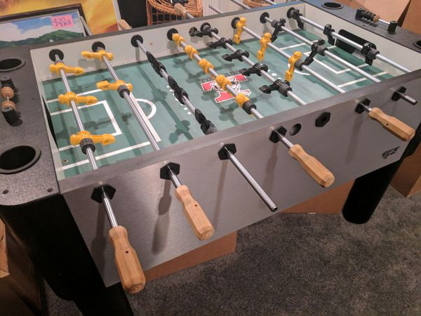 Enjoyable Tornado F5 Foosball Table For Sale In Herndon Va Offerup Download Free Architecture Designs Intelgarnamadebymaigaardcom