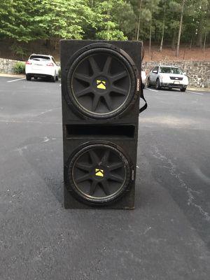 "2 kicker comp 12"" 300w for Sale in Atlanta, GA"