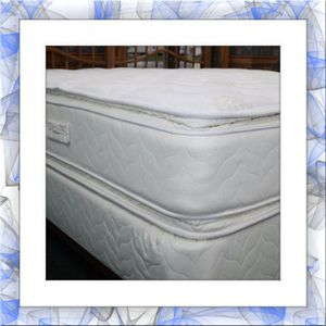 Mattress jumbo doublepillowtop free box spring and shipping for Sale in Fairfax, VA