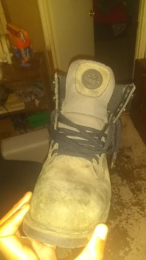 Size 10.5 Timberland work boots serious buyers only for Sale in Takoma Park, MD