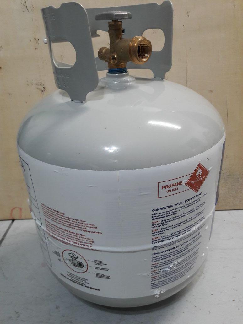 Propane tank New Empty 20 lbs
