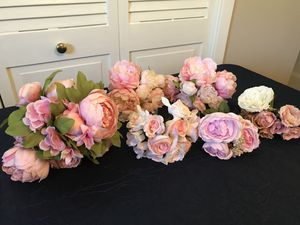 Silk Flowers for wedding or decor for Sale in Lake Mary, FL