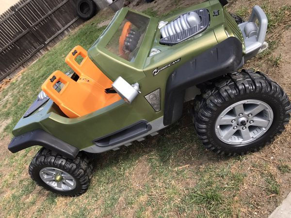 power wheels jeep hurricane (hemi) for sale in south gate, ca - offerup