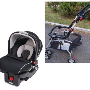 Graco carseat and frame for Sale in Arlington, VA