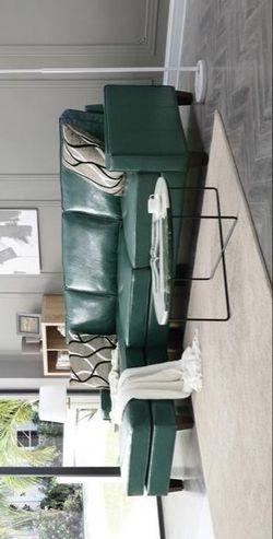 Glenbrook Turquoise Sectional Thumbnail