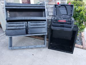 Mechanics Tool boxes x2 and storage bin for Sale in Saint Cloud, FL