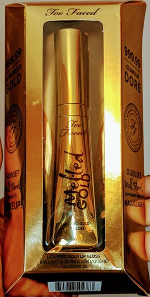 BNIB-Too Faced Melted Gold Liquefied Gold Lip Gloss for Sale in Salt Lake City, UT