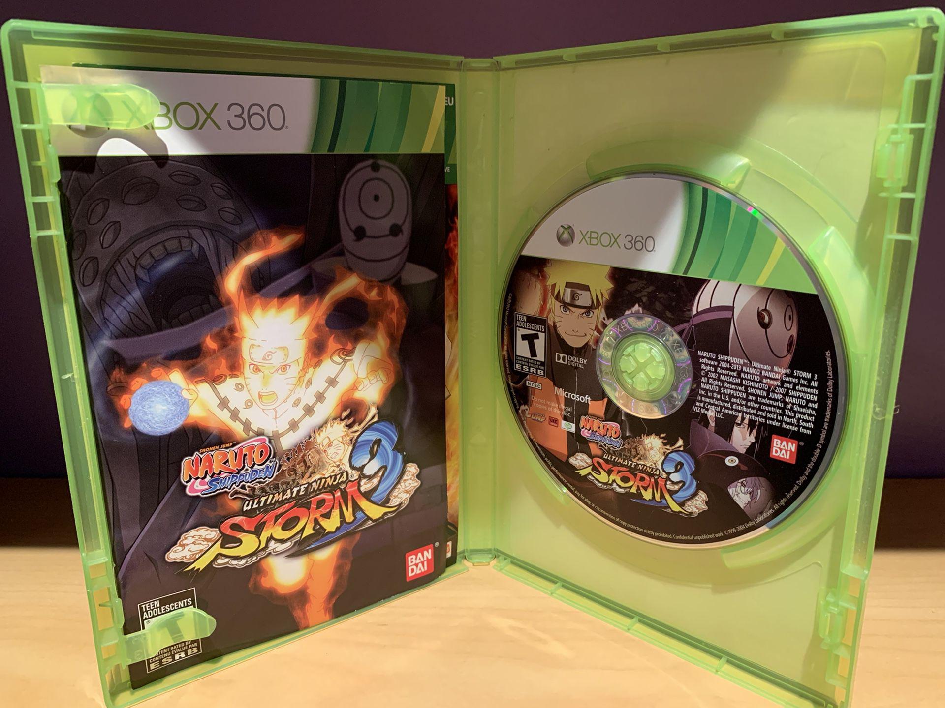 Xbox 360 Naruto Ultimate Ninja Storm 3
