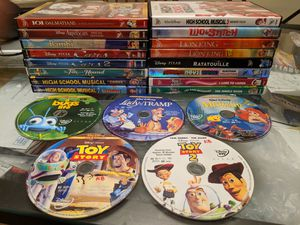 21-Movie Disney DVD Collection for Sale in Aspen Hill, MD