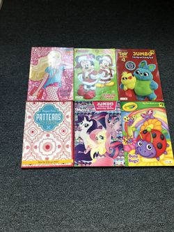 Coloring and activity books $1.00 each Thumbnail