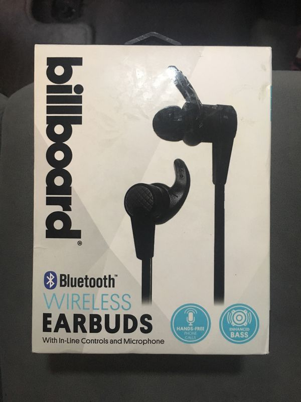 Billboard Bluetooth wireless earbuds with in-line controls and microphone   for Sale in San Diego, CA - OfferUp