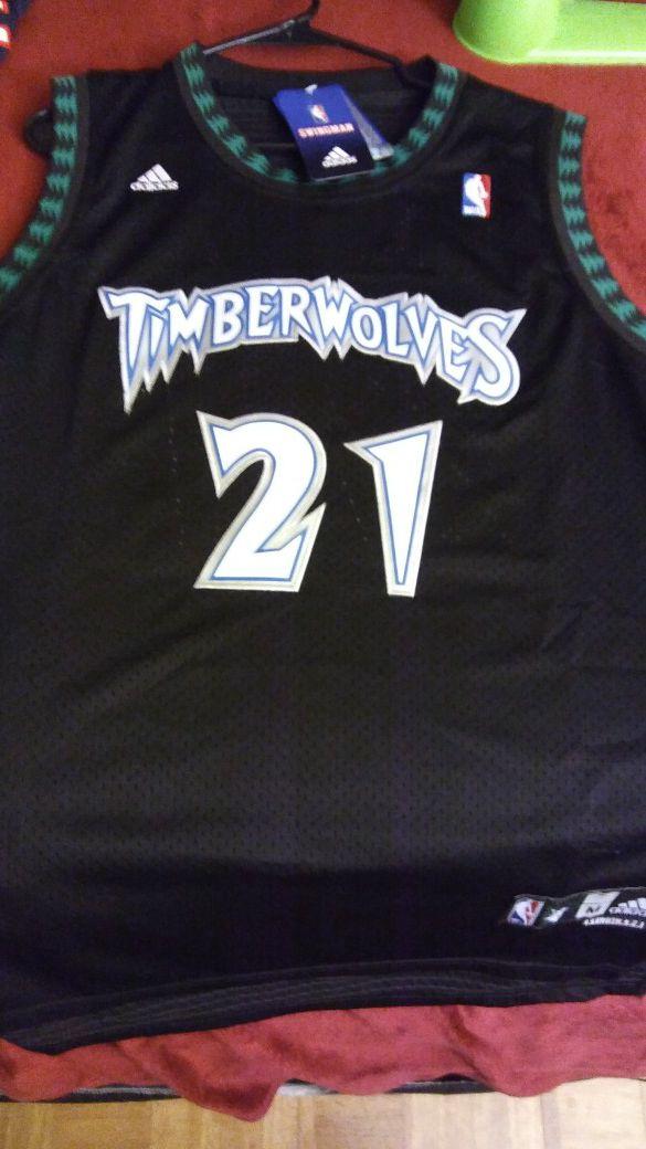 b71969e30 New w Tags KG Retro Minnesota Timberwolves Jersey! (Sports   Outdoors) in  Hampton