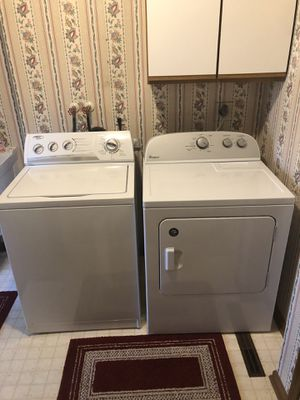 Photo Whirlpool Washer and Electric Dryer. Pick up only