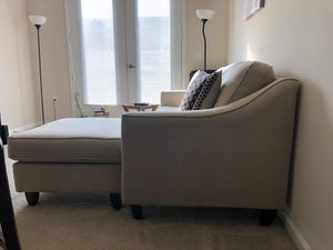 Sectional sofa (beige) for Sale in Rockville, MD