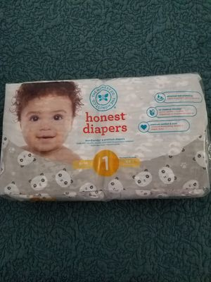 Honest diapers size 1 for Sale in Orlando, FL