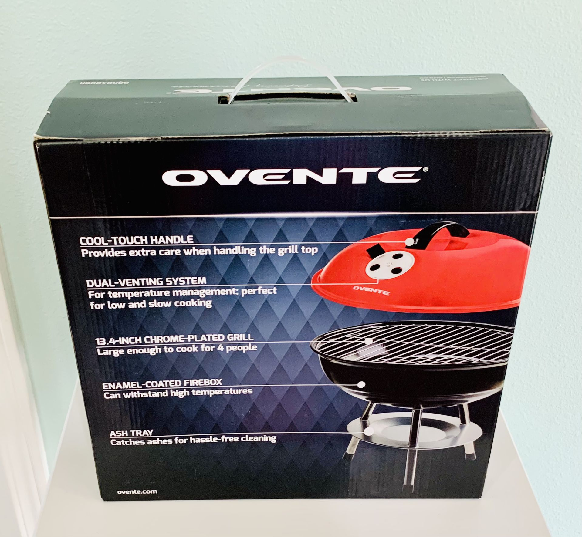 BBQ Grill Portable 14' (NEW IN BOX)