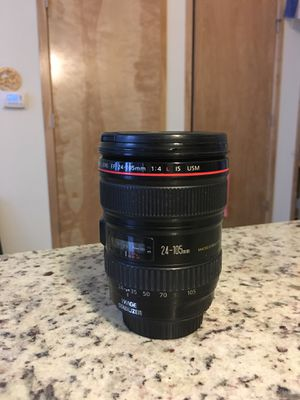 Canon 24-105 L for Sale in East Saint Louis, IL