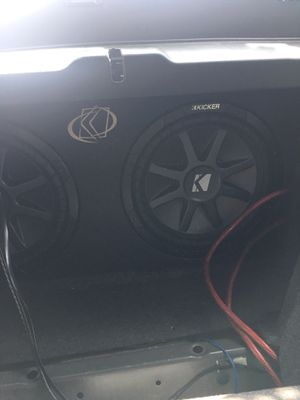 "12"" kicker comp vr for Sale in Gaithersburg, MD"