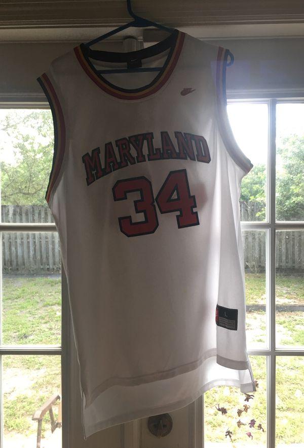 on sale 584a1 cb00f Len bias Boston Celtics 1st pick Maryland jersey for Sale in Orlando, FL -  OfferUp