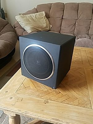"""7"""" Logitech computer subwoofer for Sale in San Diego, CA"""