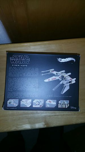 Star wars hot wheels elite red 5 die cast for Sale in Rancho Cordova, CA